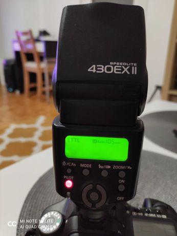 Lampa błyskowa Canon 430EX II z pokrowcem