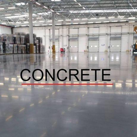 Промышленные полы промислові бетонні підлоги Стяжка Промислова підлога