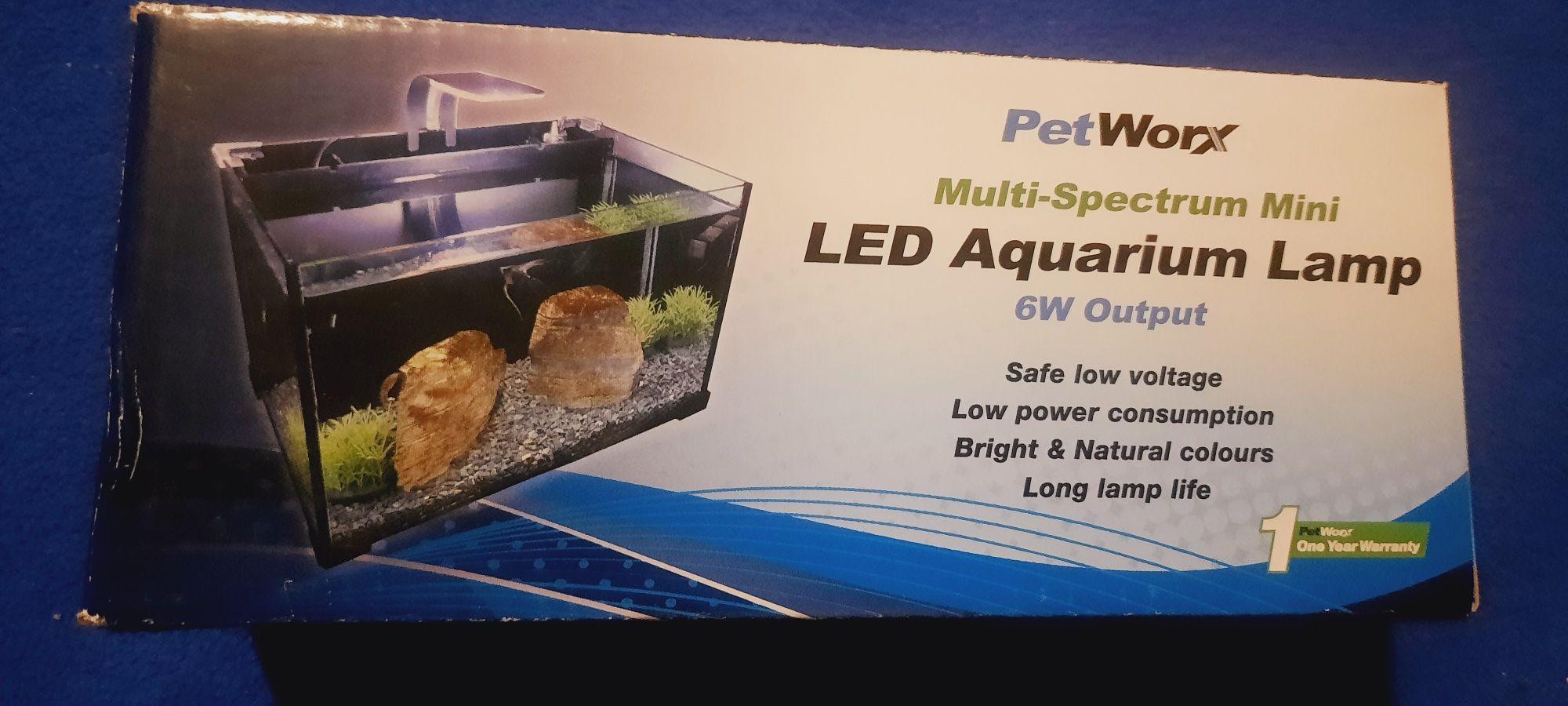 Аквариумная LED лампа Resun PetWorx МультиСпектум Мини