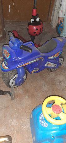 Motorek dla chlopca
