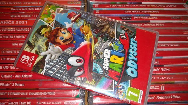 Super Mario Odyssey Nintendo Switch możliwość zamiany SKLEP