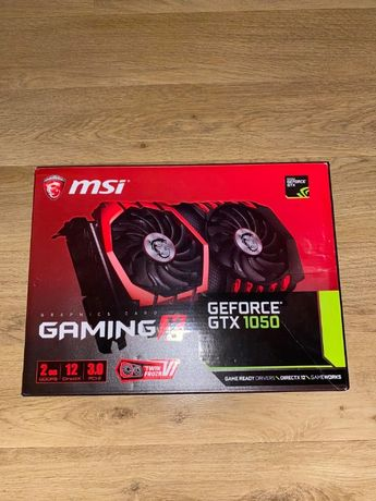 Karta Graficzna MSI GeForce GTX 1050 GAMING X 2GB