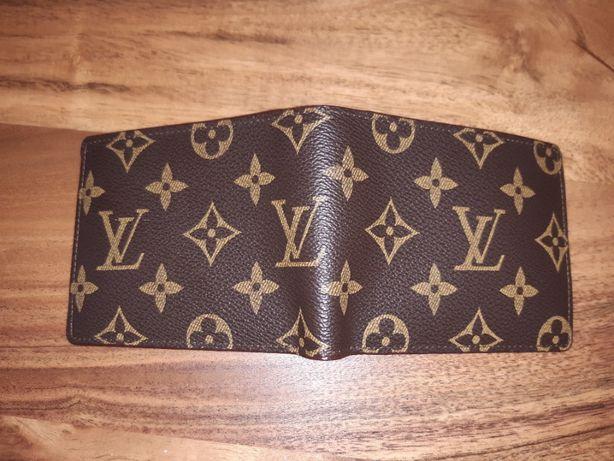 portfel damski Louis Vuitton ,oryginalny egzemplarz,skora,nowy.