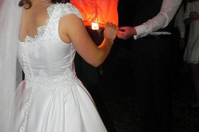 Продам весільне плаття з королівського атласу
