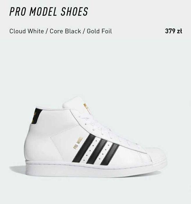 Buty adidas pro model 40 Warszawa - image 1