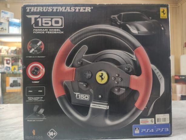 Kierownica Thrustmaster T150 Ferrari edition Nowa Gwarancja Prezent