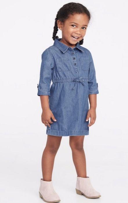 Новое джинсовое платье Old Navy (Next, H&M, Zara), размер 104 Киев - изображение 1