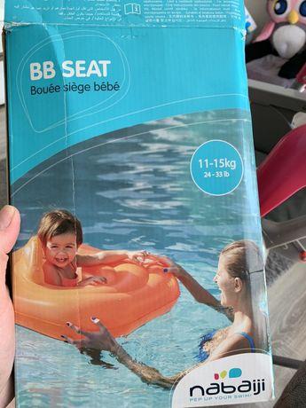 Koło do pływania dla dzieci z siedzeniem