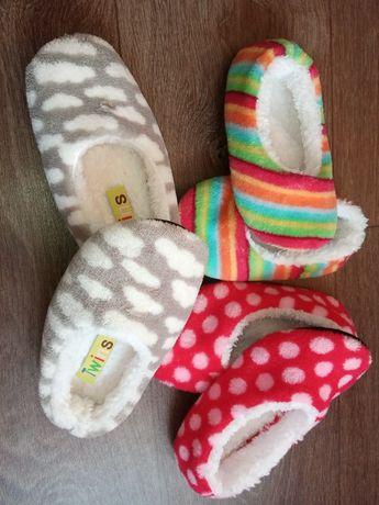 Тапки детские тёплые тапочки комнатные тапули