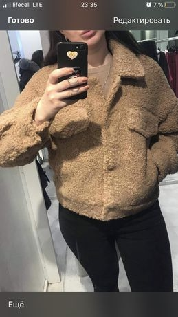 Куртка пальто тедди ovs