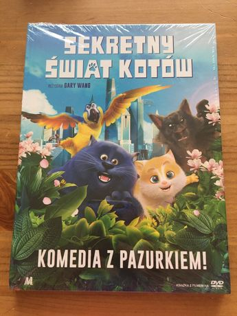 Sekretny świat kotów dvd nowy w folii