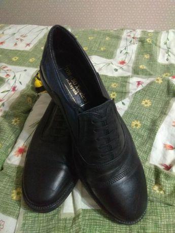 Туфли военные, кожаные, новые