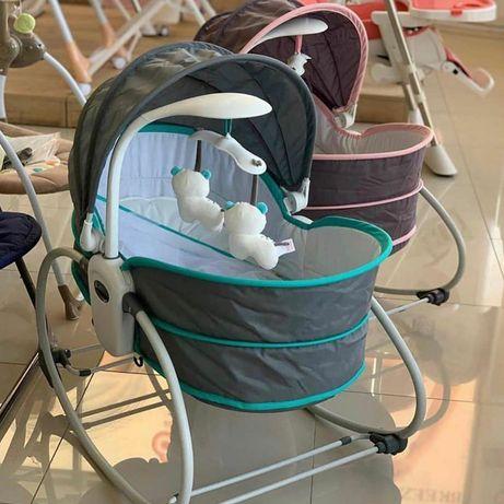 Люлька-качалка Mastela 6037 для новорожденных 5 в 1