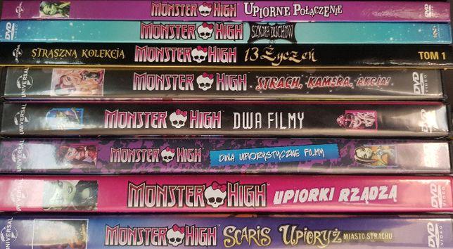 Płyty dvd seria Monster High