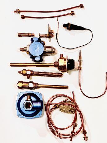 Газовая автоматика КАРЕ в сборе и по частям.