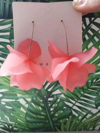 Kolczyki kwiatuszki