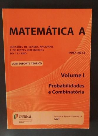 Livro IAVE Matemática A - Probabilidades e Combinatória [12ºano]