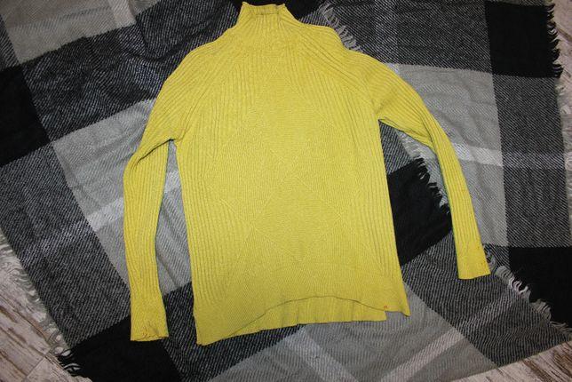 Кофта свитер жёлтый S_M 42-44 размер