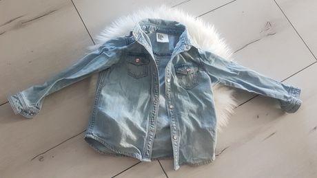 Koszula lub lekka kurteczka jeansowa roz.92