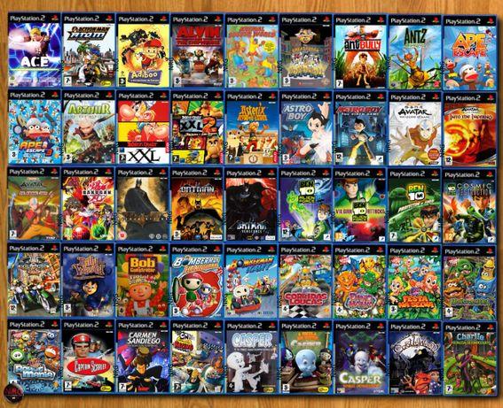 [PS2] 350 Jogos RAPAZ/CRIANÇA até 12 Anos (Vendo à Unidade)
