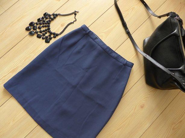 Włoska spódnica wysokiej jakości elegancka 34 36 XS S Massimo Dutti