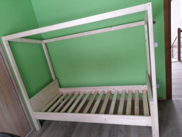 Łóżko bramka piłkarska 80,90x200