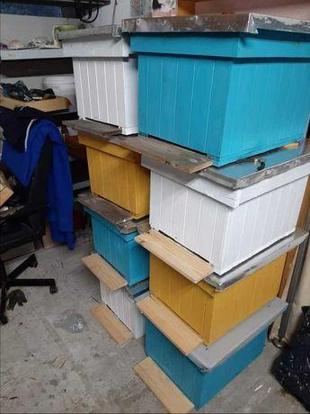 Ul Wielkopolski odkładowy 8 ramkowy ocieplony pszczoły odkłady