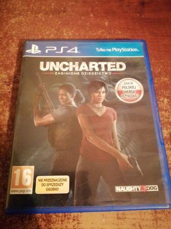 Ucharted Zaginione dziedzictwo PS4