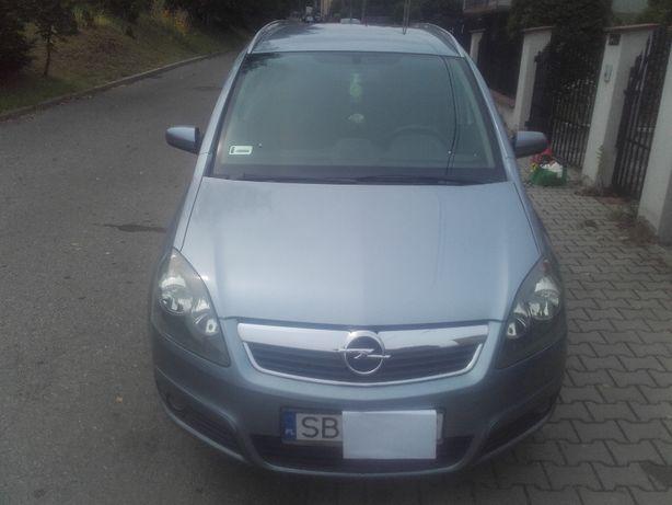 Opel Zafira 1,6 ben 2007 BDB stan lub zmienię na przyczepę kempingową