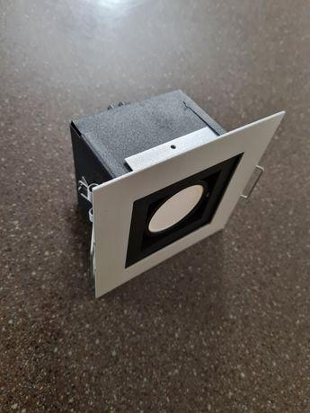 Downlight LED, WYS JAKOŚCI, kwadratowy z markowym źródłem LED 7W 600lm