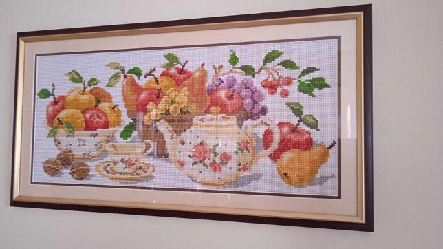 Готовая картина Алмазная вышивка/ мозаика Кухонный натюрморт