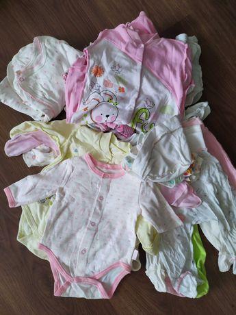 Пакет речей для дівчинки 0-3 місяців