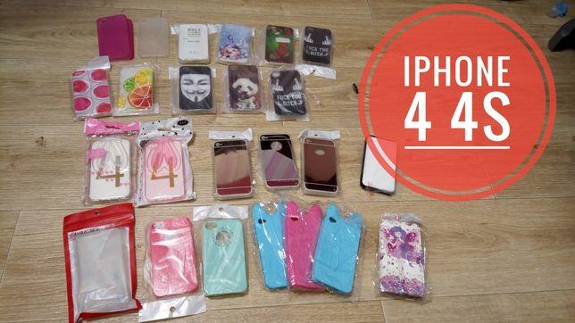 Чехол iPhone  4 4s 5 5s +стекло в подарок