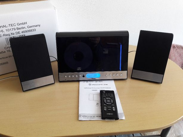 Super wieża stereo 20 wat CD, MP3, SD USB, AUX