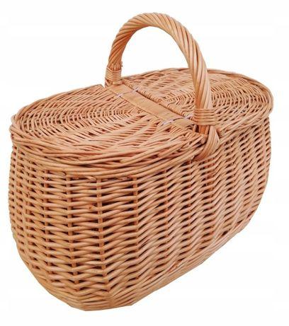 Kosz na piknik, zakupy, bagażowy, zwykły