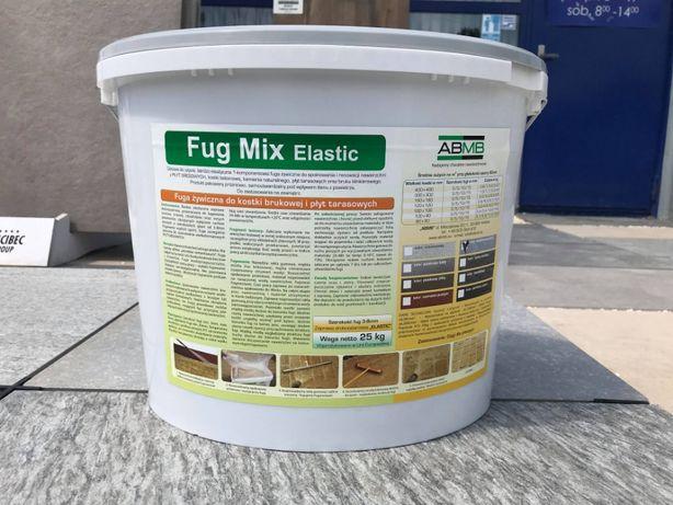 Fuga żywiczna Fug MIX Elastic 25 kg płyty tarasowe kostka brukowa