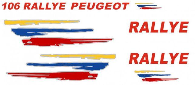 Kit Autocolantes Peugeot 106 Rallye