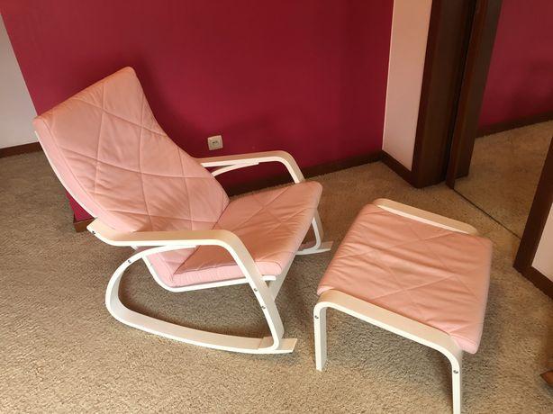 Fotel, bujany,  krzeslo do karmienia.