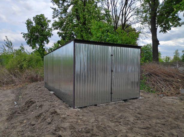 Garaż blaszany blaszak 3x5, szybka realizacja, dostawa i montaż GRATIS