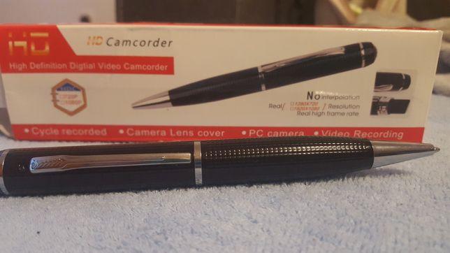 Długopis z kamerą i dyktafonem, długopis szpiegowski
