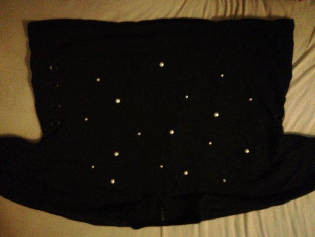 Czarna koszulka XL