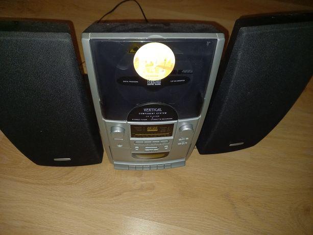 Miniwieża Vertical Radio Odtwarzacz CD