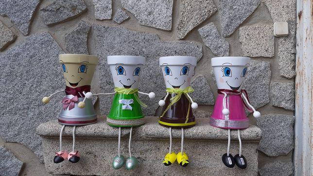 Vasos de  Boneca