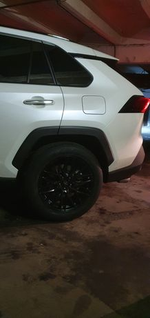 Toyota RAV4 Шины на дисках и датчики давления