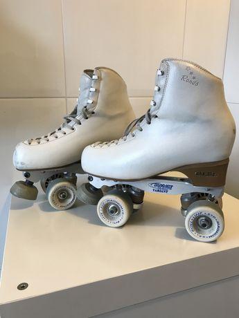 Patins patinagem artistica numero 250