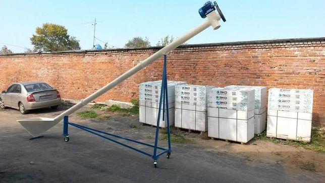 Погрузчик шнековый, транспортер зерна Ø 159 мм