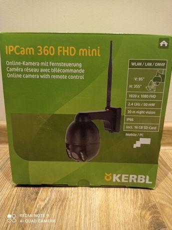 Kamera IP, monitoring koni, stajni, domu. KERBL IPCam 360FHD mini