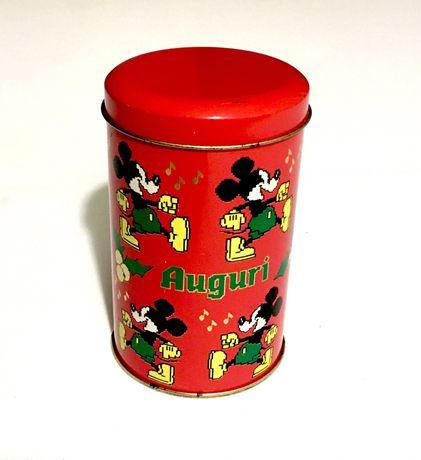 Puszka kolekcjonerska Mickey Mouse 1990