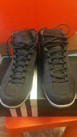 Замшевые ботинки Adidas оригинал