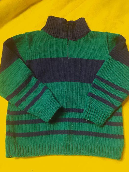 Вязаный костюм на возраст 3-5 лет Васильков - изображение 1